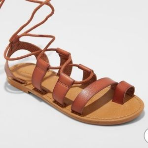 Women's Paige Lace Up Gladiator Sandals